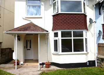 Thumbnail 1 bedroom flat to rent in Blatchcombe Road, Paignton