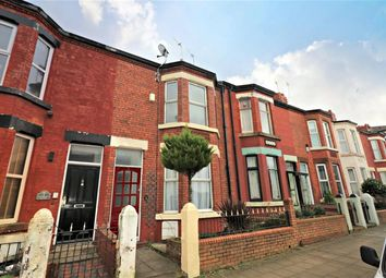 Thumbnail 4 bed terraced house to rent in Wellington Road, Wallasey