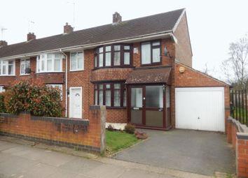 Thumbnail 3 bedroom end terrace house for sale in Wyken Croft, Wyken, Coventry