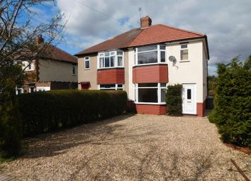 Thumbnail 3 bed semi-detached house to rent in Eakring Road, Mansfield