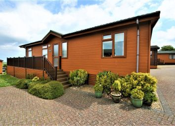 Thumbnail 2 bed lodge for sale in 2 Bedroomed Luxury Lodge, Meadow View, Ilfracombe, Devon