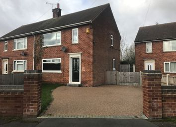 Thumbnail 3 bed semi-detached house to rent in Wynlea Drive, Blyth Road, Oldcotes, Worksop