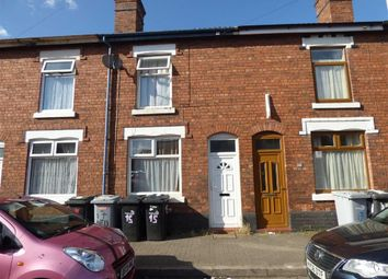 Thumbnail 2 bedroom terraced house for sale in Bedford Street, Crewe