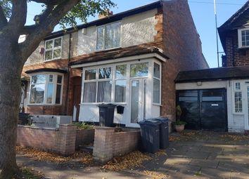 Thumbnail 3 bed property to rent in Milverton Road, Erdington, Birmingham