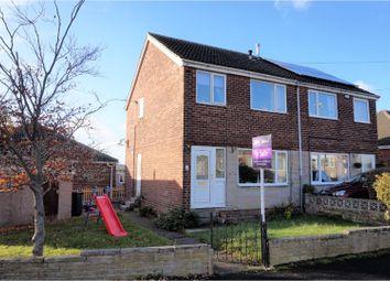 Thumbnail 3 bedroom semi-detached house for sale in Fields Road, Lepton, Huddersfield