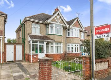 Thumbnail 3 bed semi-detached house for sale in Treeside Road, Shirley, Southampton