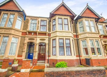 Thumbnail 4 bed terraced house for sale in Kimberley Road, Roath, Cardiff