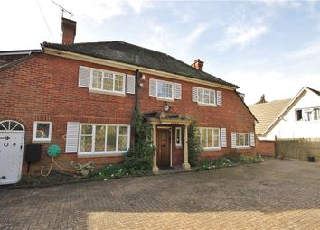 Thumbnail 4 bed detached house to rent in Ruxbury Road, Chertsey, Surrey