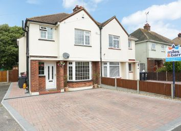 Thumbnail 4 bed semi-detached house for sale in Westover Gardens, Broadstairs