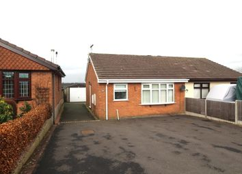 Thumbnail 2 bedroom bungalow to rent in Rennie Crescent, Cheddleton, Leek