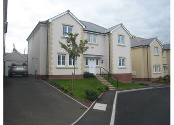 Thumbnail 4 bed detached house for sale in Edmond Locard Court, Chepstow