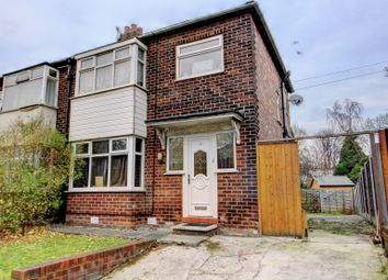 Thumbnail 3 bedroom semi-detached house for sale in Crossley Road, Stockport