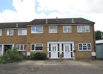 Thumbnail 3 bed terraced house to rent in Oak Crescent, Upper Caldecote, Biggleswade