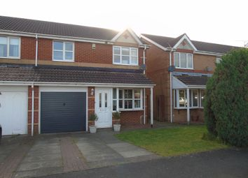 Thumbnail 3 bed semi-detached house for sale in Oakley Close, Annitsford, Cramlington