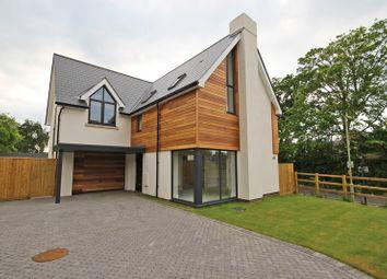 Thumbnail 4 bed detached house for sale in Sky End Lane, Hordle, Lymington