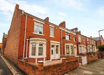 Thumbnail 3 bed end terrace house for sale in Byron Avenue, Willington Quay, Wallsend