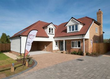 Thumbnail 4 bed detached house for sale in Faversham Road, Challock, Kent