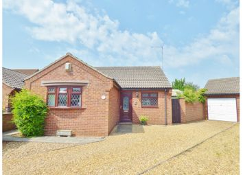 Thumbnail 2 bed bungalow for sale in Anthony Close, Whittlesey, Peterborough