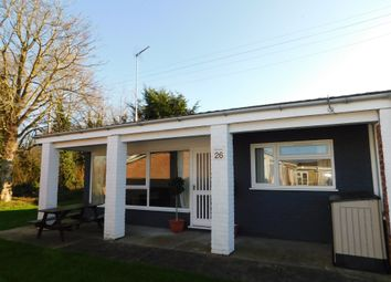 Thumbnail 2 bed terraced bungalow for sale in Marsh Road, Lowestoft