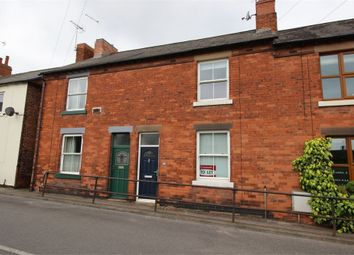 Thumbnail 2 bed terraced house to rent in High Street, Edwinstowe, Nottinghamshire
