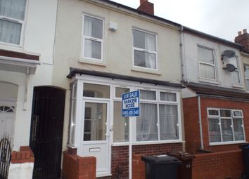 Thumbnail 3 bedroom terraced house for sale in Rugby Street, Wolverhampton