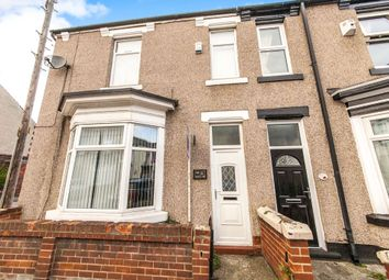 Thumbnail 3 bed end terrace house for sale in Colwyn Road, Hartlepool