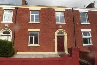 Thumbnail 3 bed terraced house to rent in Deepdale Road, Preston