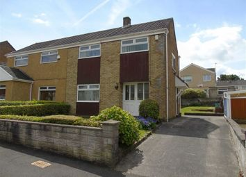 Thumbnail 3 bed semi-detached house for sale in Bronllan, Winch Wen, Swansea
