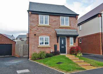 Thumbnail 4 bed detached house for sale in Yoxall Way, Streethay, Lichfield