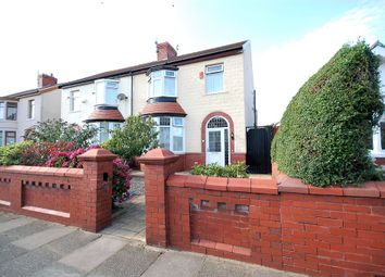 Thumbnail 3 bed semi-detached house for sale in Bournemouth Road, Blackpool