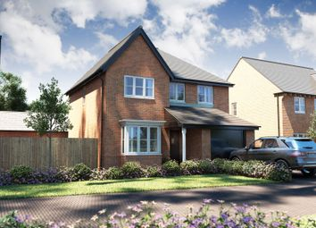 "Thumbnail 4 bed detached house for sale in ""The Hemsby"" at Oak Tree Road, Hugglescote, Coalville"