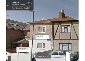 Thumbnail 1 bed semi-detached house to rent in A Queens Road, Portsmouth