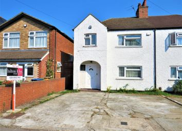 Thumbnail 4 bed semi-detached house for sale in Norton Road, Wembley, Middlesex