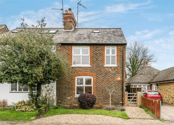 Thumbnail 3 bed semi-detached house for sale in New Road, Forest Green, Dorking, Surrey