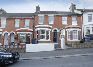 Thumbnail 3 bed terraced house for sale in Church Road, Dover