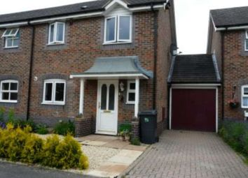 Thumbnail 2 bed semi-detached house to rent in Kennet Way, Hungerford