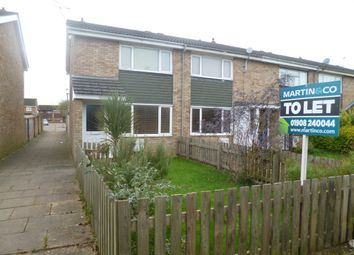 Thumbnail 3 bed end terrace house to rent in Isis Walk, Bletchley, Milton Keynes