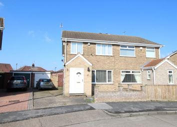 Thumbnail 3 bedroom semi-detached house for sale in Antholme Close, Sutton-On-Hull, Hull