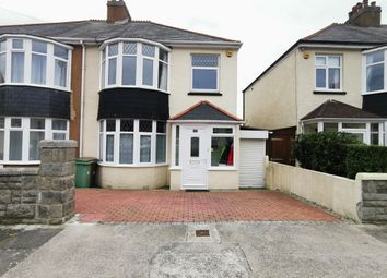 Thumbnail 3 bed property to rent in Waverley Road, Plymouth