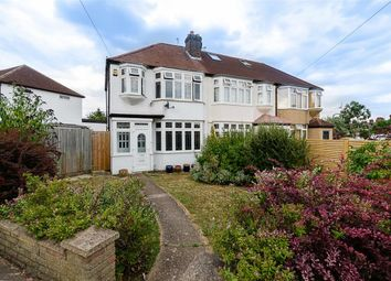 Thumbnail 3 bed end terrace house for sale in St. Margarets Avenue, Cheam, Surrey