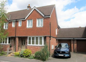 Thumbnail 3 bed semi-detached house for sale in Lyons Place, Hedge End, Southampton, Hampshire