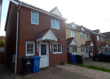 Thumbnail 2 bed end terrace house to rent in Rimer Close, Norwich