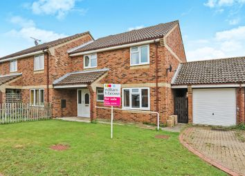 Thumbnail 4 bed semi-detached house for sale in Compass Close, Lakenheath, Brandon