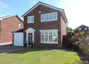 Thumbnail 3 bed detached house for sale in Rakewood Drive, Oldham