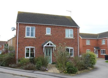 Thumbnail 3 bed detached house for sale in Post Mill Close, North Hykeham
