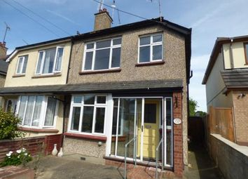 Thumbnail 3 bed semi-detached house for sale in The Crescent, Hadleigh, Benfleet