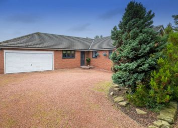 Thumbnail 4 bed detached bungalow for sale in The Gables, Fairmoor, Morpeth