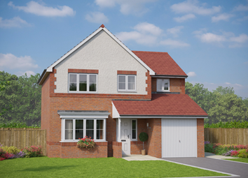 Thumbnail 4 bed detached house for sale in Chester Rd, Oakenholt