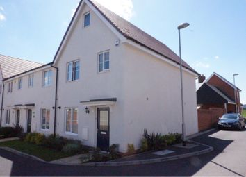 Thumbnail 3 bed end terrace house for sale in Duncombe Close, Witham