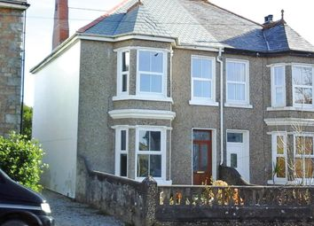Thumbnail 3 bed semi-detached house for sale in Cadogan Road, Beacon, Camborne